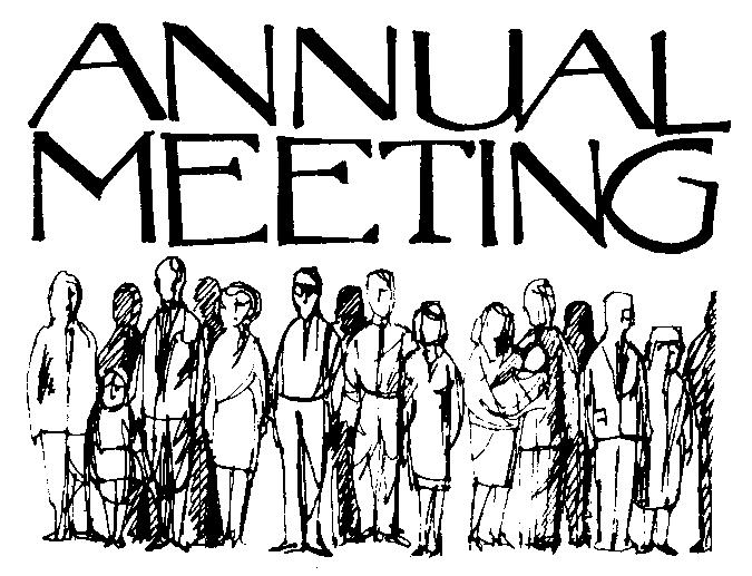Annual Church Meeting Clip Art Free
